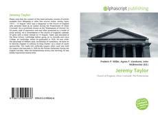 Buchcover von Jeremy Taylor