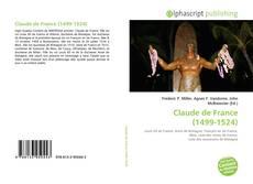 Portada del libro de Claude de France (1499-1524)