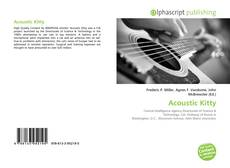 Bookcover of Acoustic Kitty