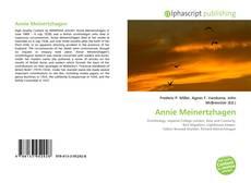 Bookcover of Annie Meinertzhagen