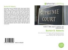 Bookcover of Burton B. Roberts