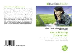 Capa do livro de Virtual Learning Environment