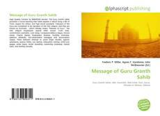 Capa do livro de Message of Guru Granth Sahib
