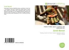 Buchcover von Jordi Bonet