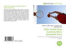 Capa do livro de 2009–10 Ball State Cardinals Men's Basketball Team
