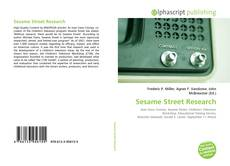 Bookcover of Sesame Street Research