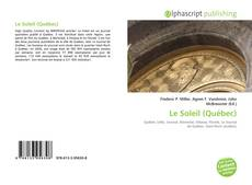 Portada del libro de Le Soleil (Québec)
