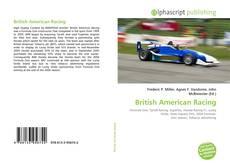 Bookcover of British American Racing