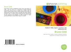 Bookcover of Bruno Côté