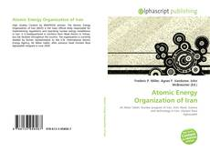 Capa do livro de Atomic Energy Organization of Iran