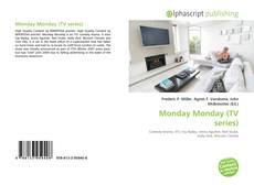 Bookcover of Monday Monday (TV series)