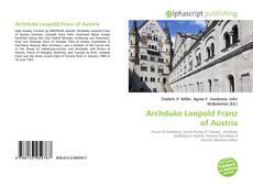 Buchcover von Archduke Leopold Franz of Austria