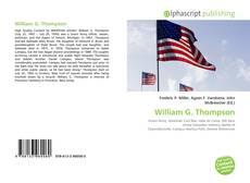 Bookcover of William G. Thompson