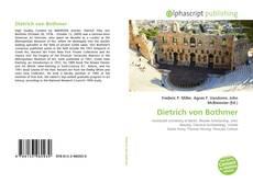 Portada del libro de Dietrich von Bothmer