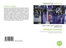 Bookcover of Adiabatic Invariant