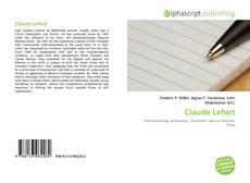 Обложка Claude Lefort