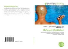 Buchcover von Mahasati Meditation