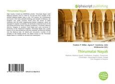Portada del libro de Thirumalai Nayak