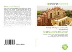 Portada del libro de Muthuswami Dikshitar