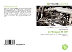 Bookcover of Continental O-190