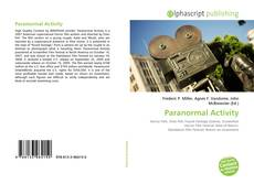 Bookcover of Paranormal Activity