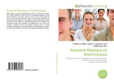 Bookcover of Personne Physique en Droit Français