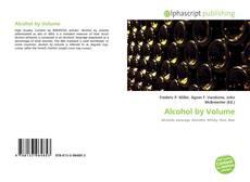 Portada del libro de Alcohol by Volume