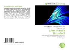 Buchcover von Judah he-Hasid (Jerusalem)