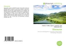 Bookcover of Discourse