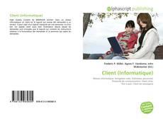 Capa do livro de Client (Informatique)