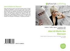 Abd Al-Malik Ibn Marwan kitap kapağı