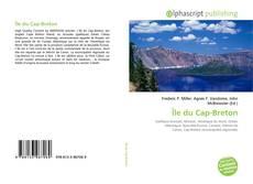 Bookcover of Île du Cap-Breton