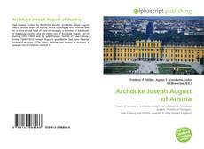 Buchcover von Archduke Joseph August of Austria