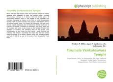 Capa do livro de Tirumala Venkateswara Temple
