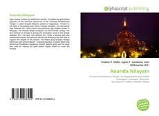 Couverture de Ananda Nilayam