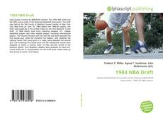 Bookcover of 1984 NBA Draft