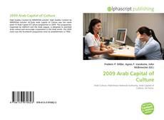 Bookcover of 2009 Arab Capital of Culture