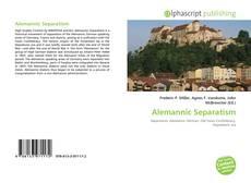Borítókép a  Alemannic Separatism - hoz