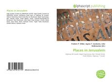 Portada del libro de Places in Jerusalem