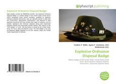 Обложка Explosive Ordnance Disposal Badge