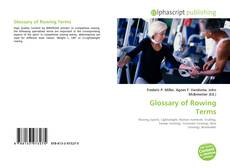 Buchcover von Glossary of Rowing Terms