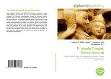 Capa do livro de Tirumala Tirupati Devasthanams