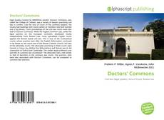 Bookcover of Doctors' Commons