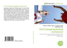 Bookcover of 2010 College Basketball Invitational