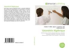 Bookcover of Géométrie Algébrique