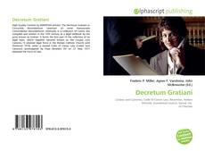 Portada del libro de Decretum Gratiani