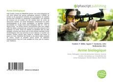 Обложка Arme biologique