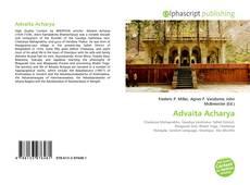 Couverture de Advaita Acharya