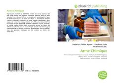 Bookcover of Arme Chimique