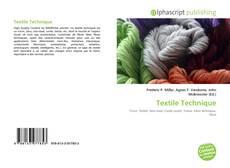 Bookcover of Textile Technique